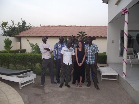 Benin team 2013