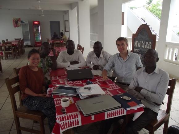 Benin team 2012